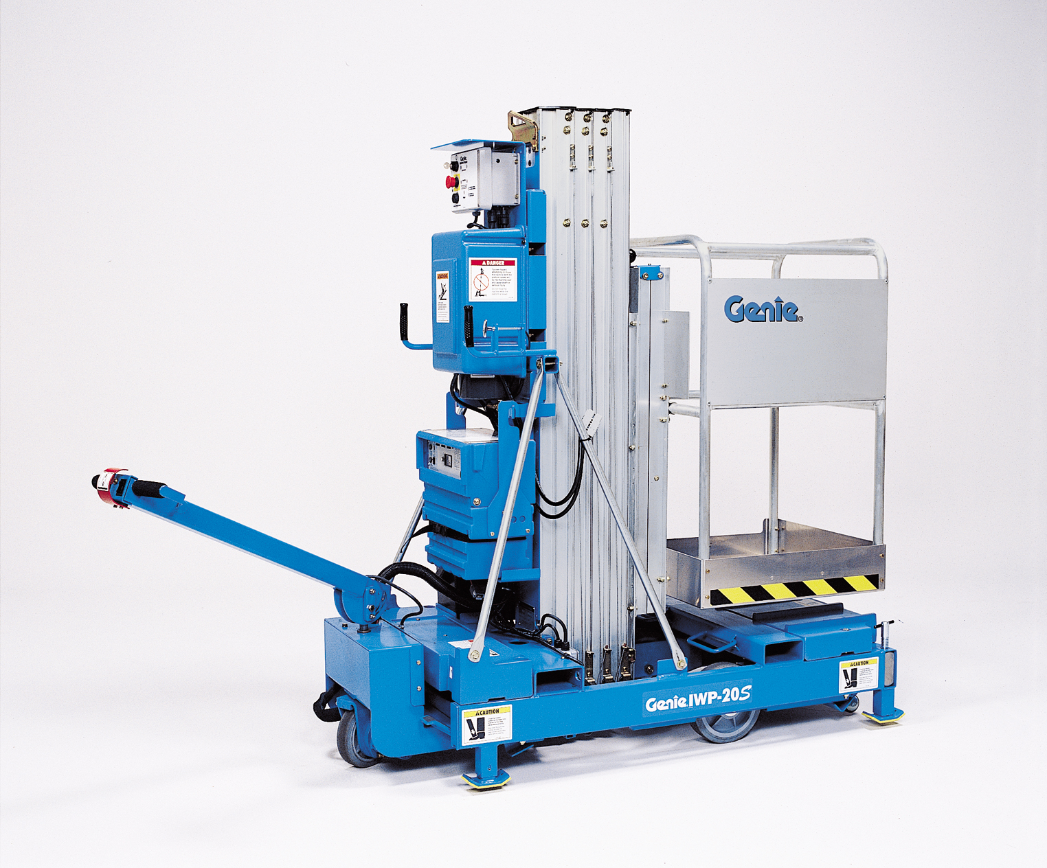 Vertical Lift Parts : Genie iwp s vertical lift cherry picker