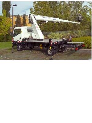 Oil & Steel Scorpion 2313, Van Mounted Lift