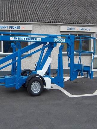 UpRight TL38 Trailer Mount Boom (2003)